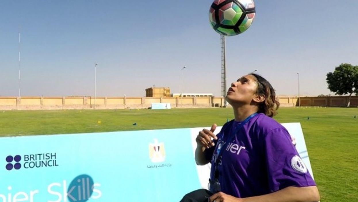 1,000 Girls: 1,000 Dreams training in Luxor