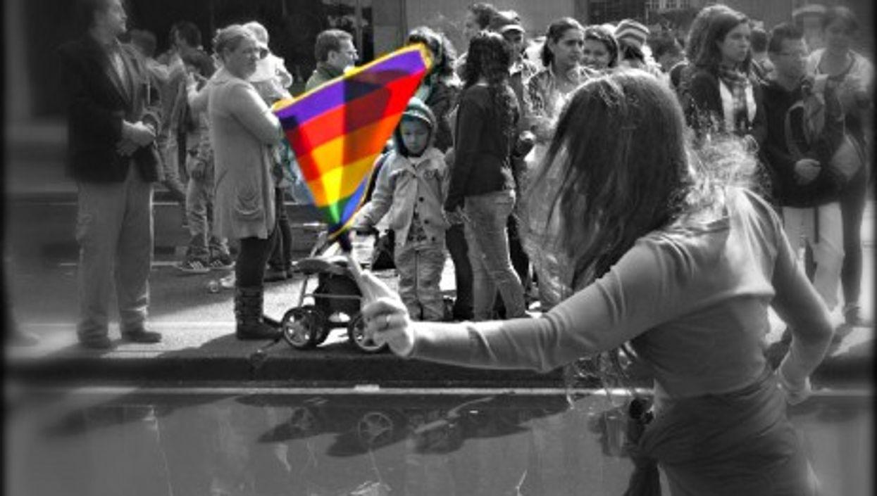 2013 LGBTI pride parade in Bogota