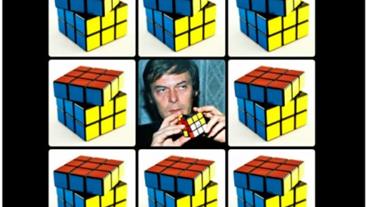 43,252,003,274,489,856,000 combinations but only one Erno Rubik