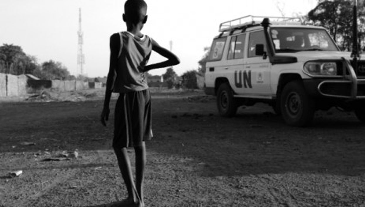 805 million people across the globe are undernourished, a new UN report reveals.