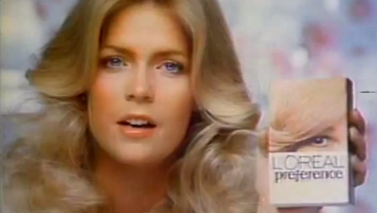 A 1978 ad with actress Meredith Baxter