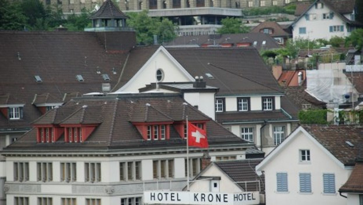 A 63 euros per night, the Hotel Krone is one of Zurich's most affordable