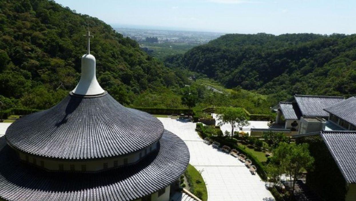 A Catholic Church in Jiao Xi, Taiwan