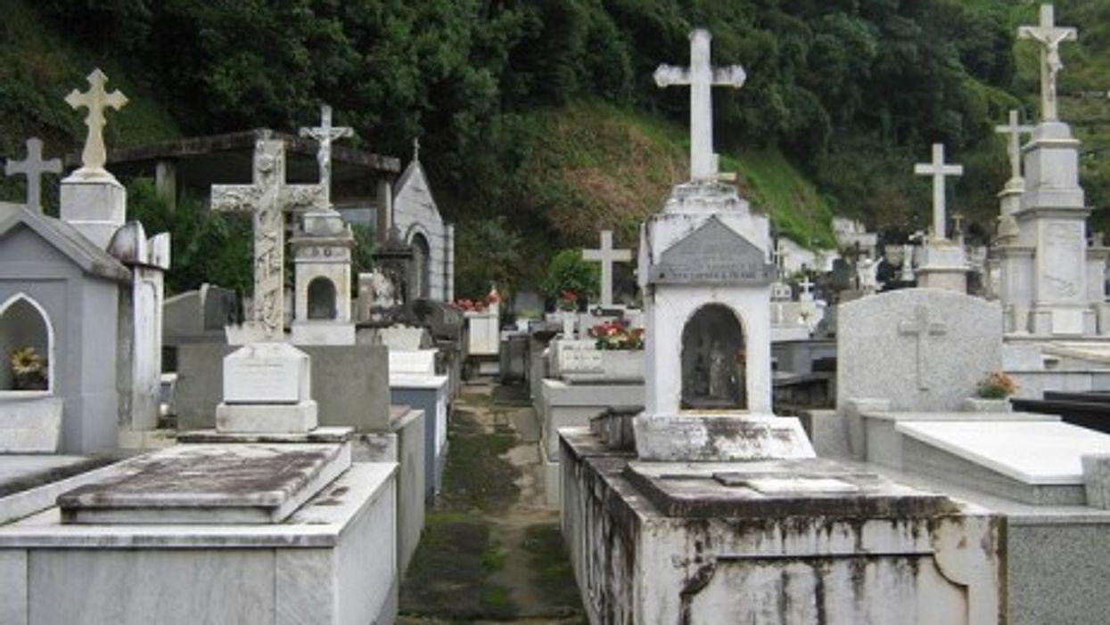 a cemetery in Rio de Janeiro, Brazil
