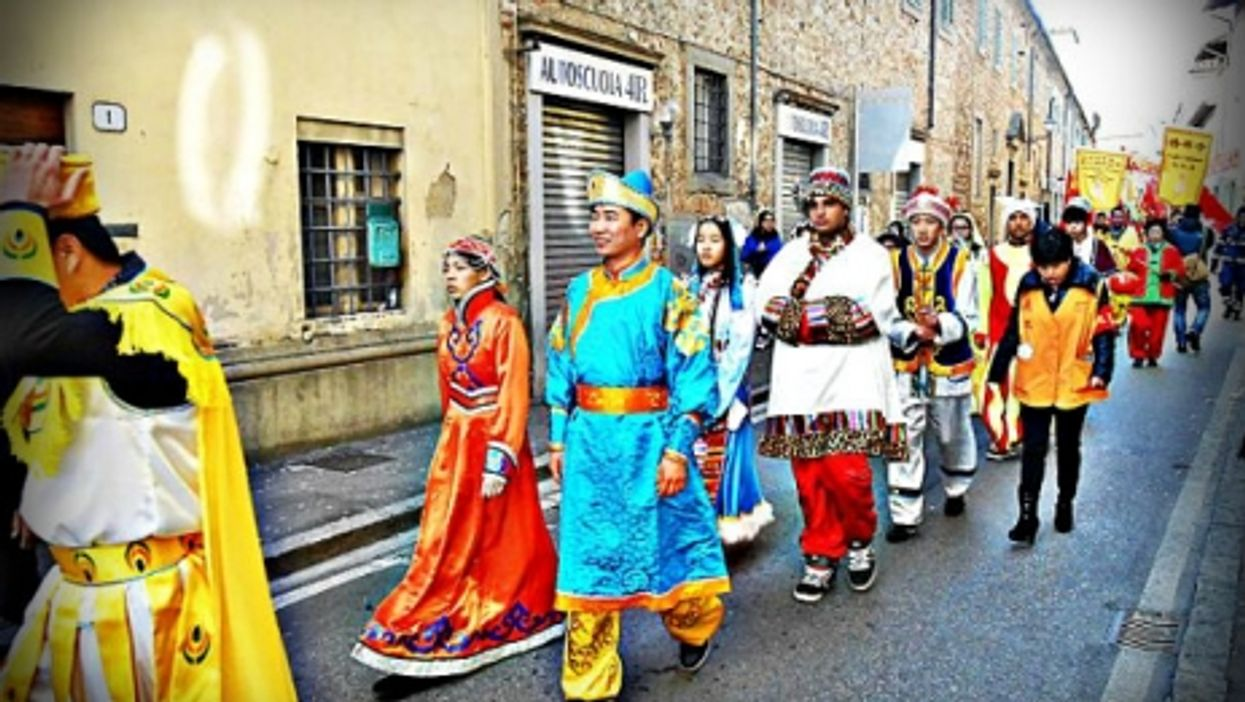 A Chinese New Year's celebration in Tuscany