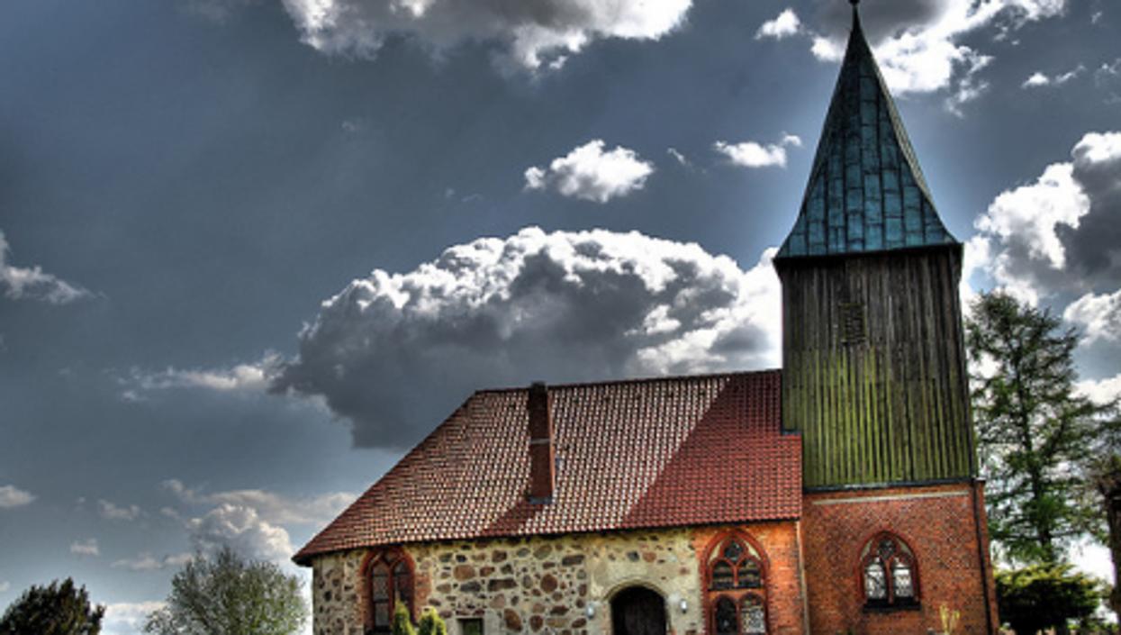 A church in Meuchefitz, Germany