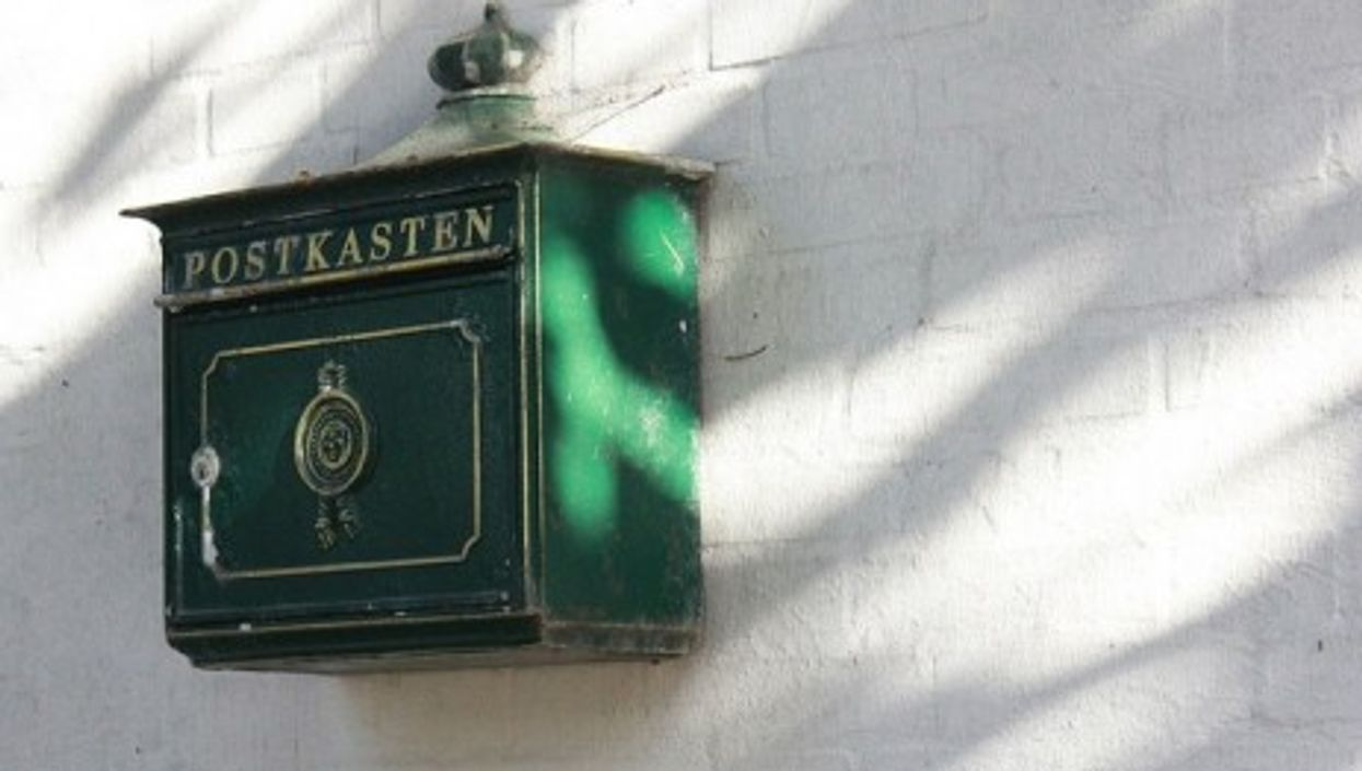 A classic German mailbox....but what's inside?