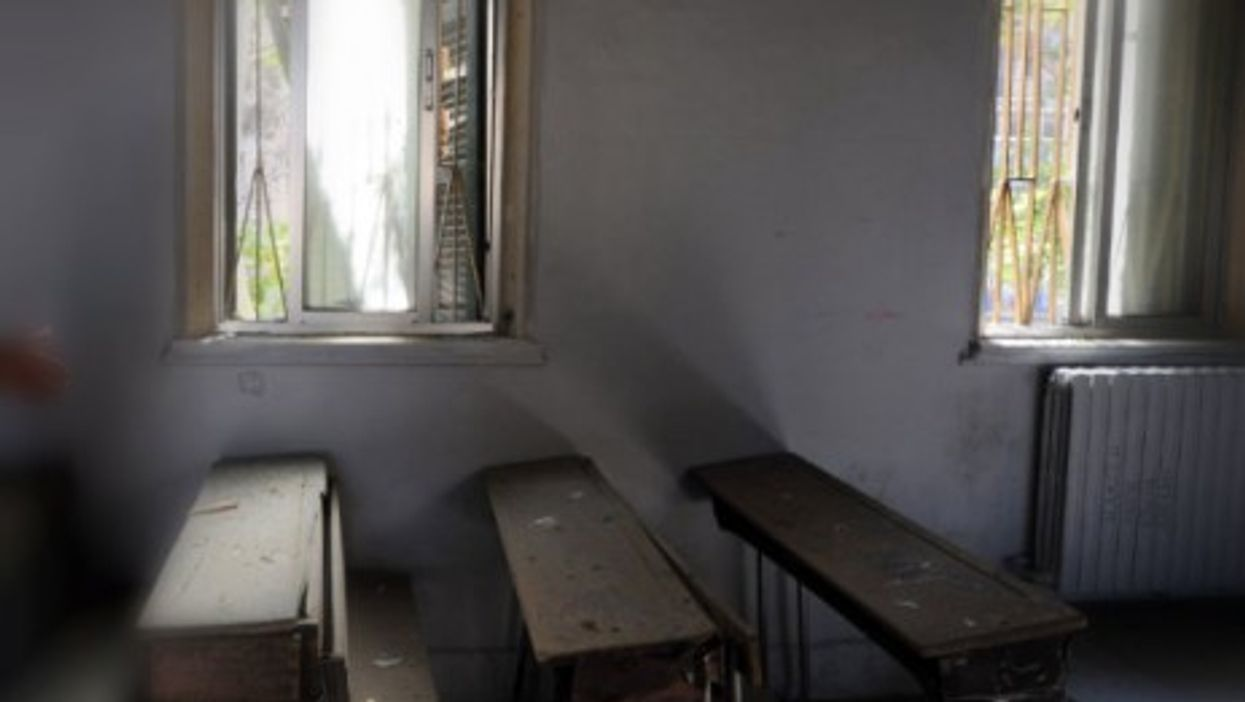 A classroom in Syria