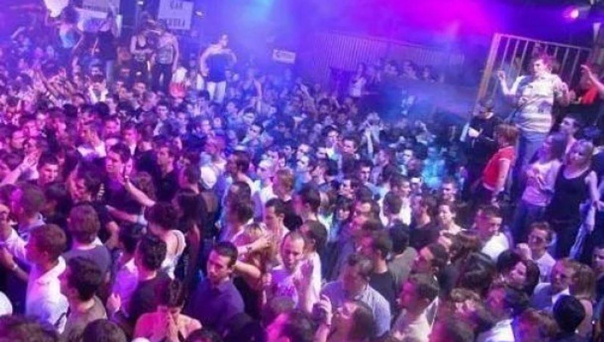A club in Sardinia
