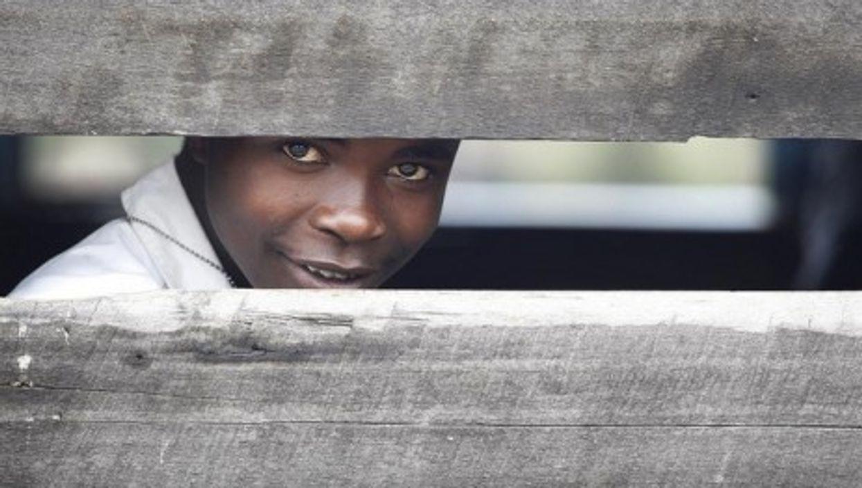 A Congolese child (Steve Evans)