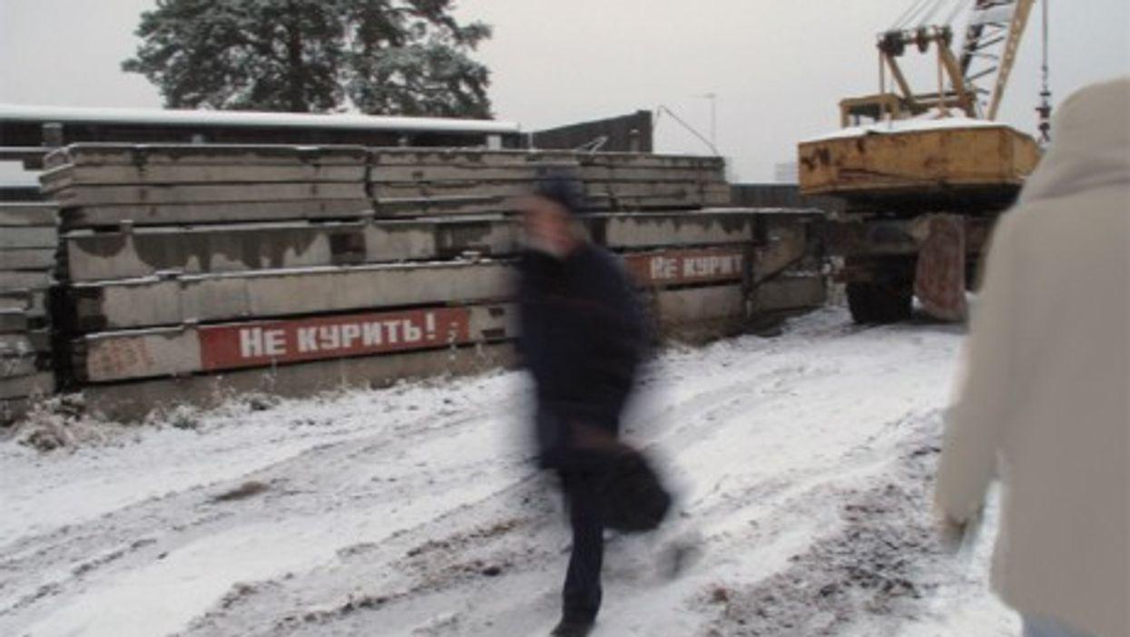 A construction site near Yekaterinburg (peretzp)