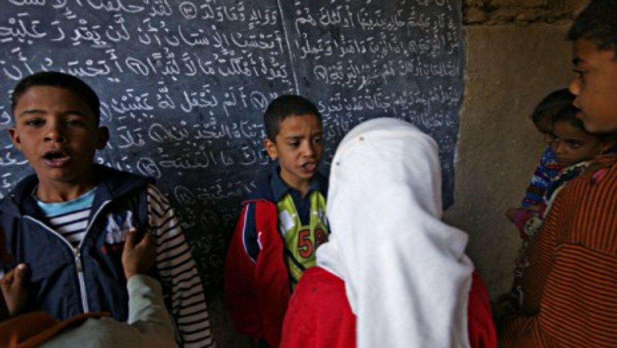 A Coranic school in Cairo, Egypt, in December 2007.