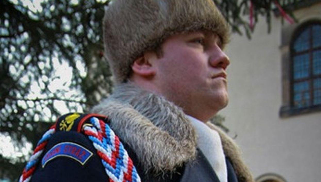 A Czech soldier (Jametiks)