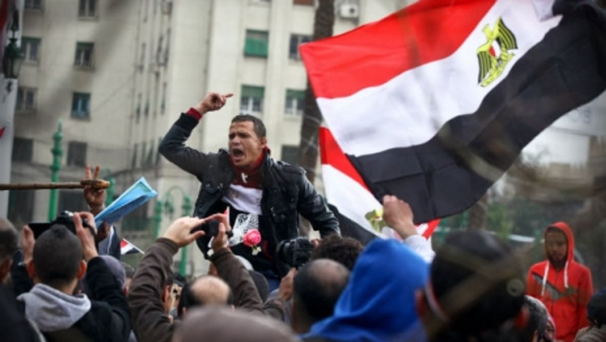 A demonstration this week in Cairo to mark the 5th anniversary of the Jan. 25 uprising