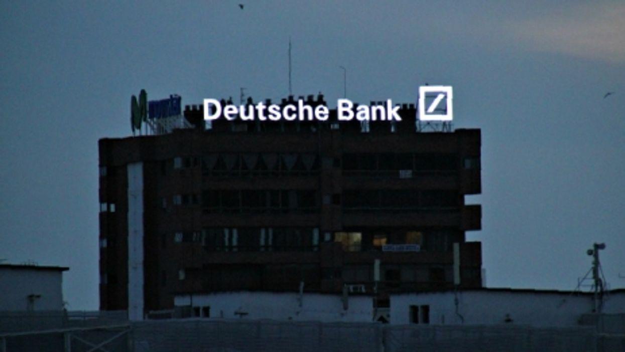 A Deutsche Bank building