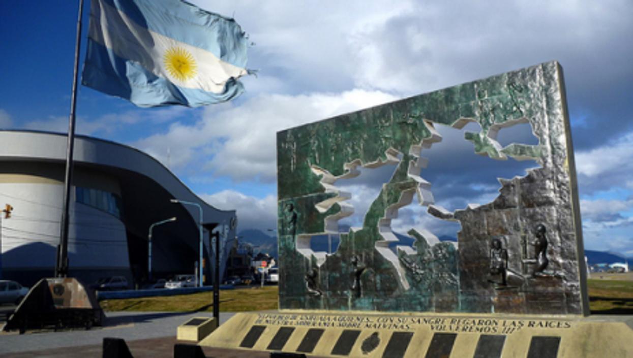 A Falklands War memorial in Argentina (Benjamin Dumas)