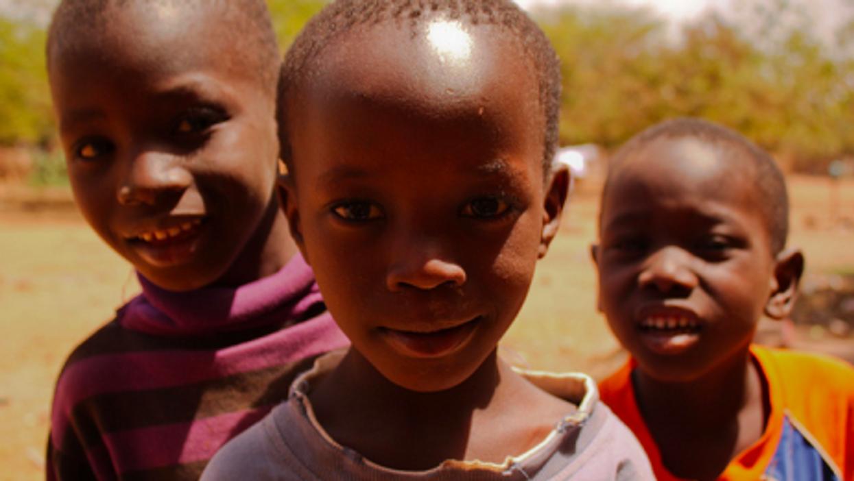 A file photo of children in Bamako