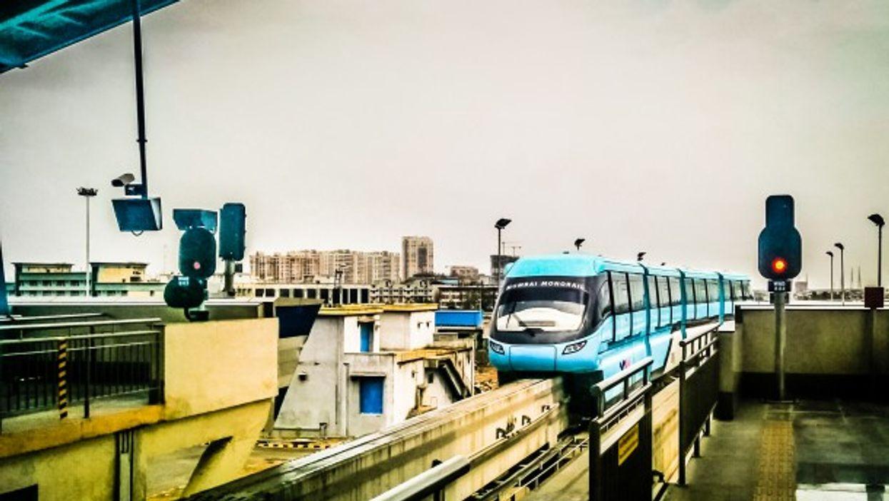 A file photo of Mumbai's Monorail