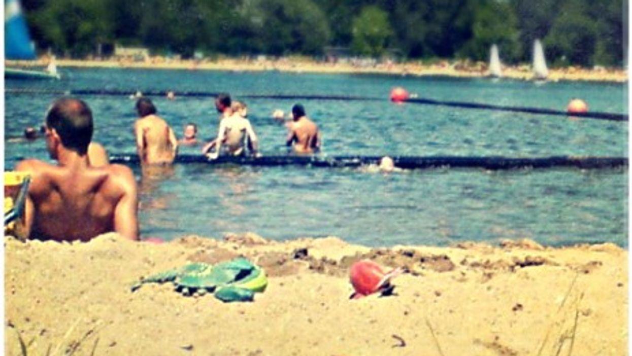 A German nudist beach