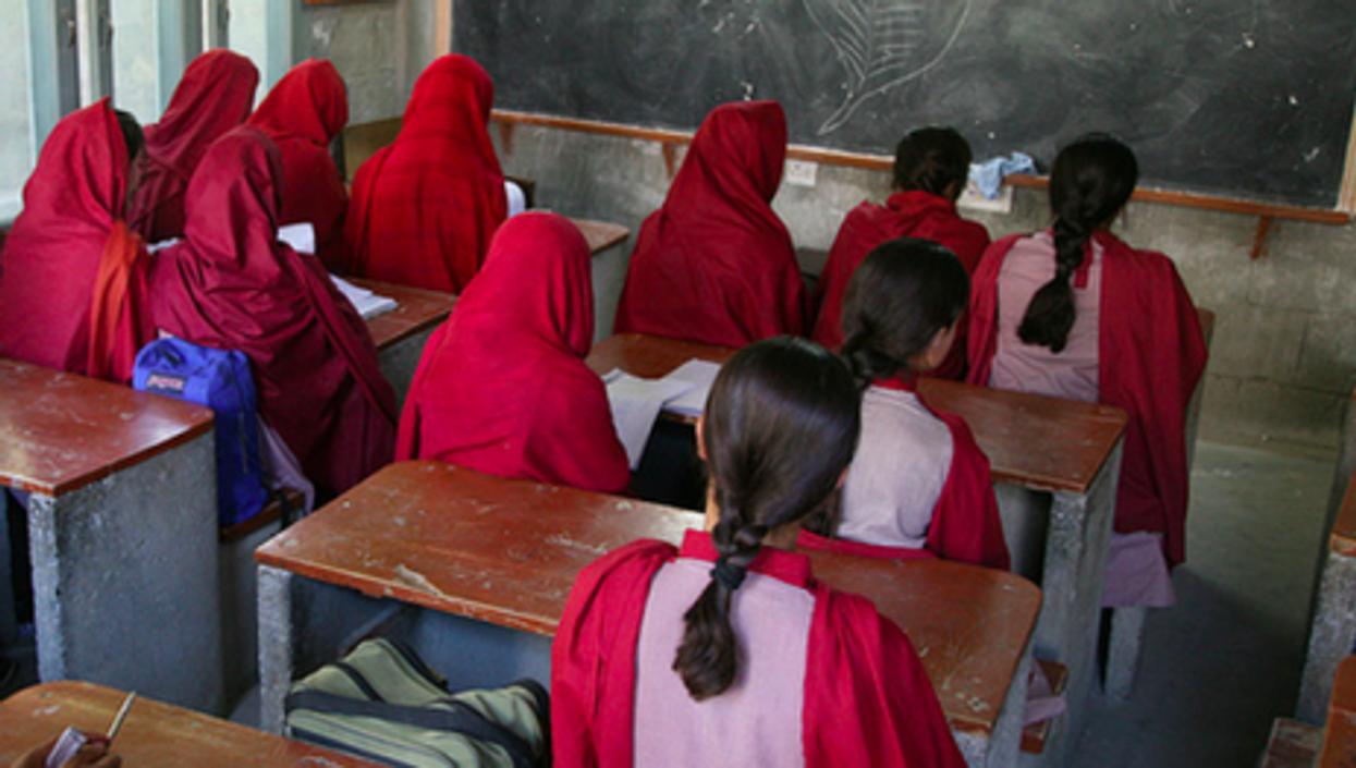A girl's school in Pakistan
