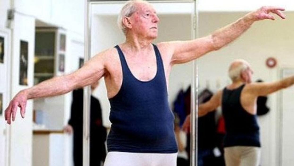 A groovy grandpa.