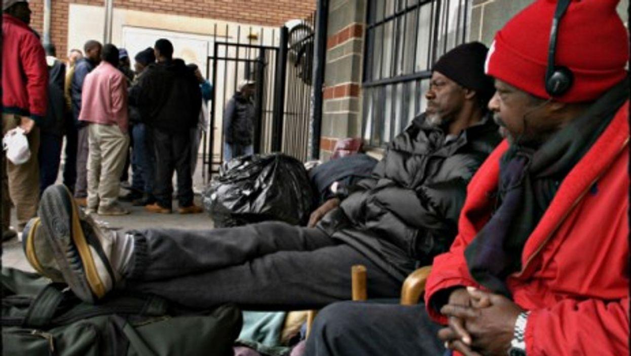 A homeless shelter in Atlanta