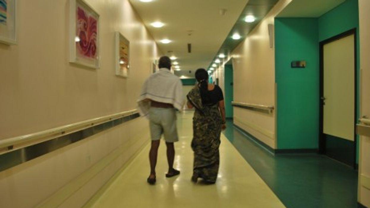 A hospital in Bangalore, India