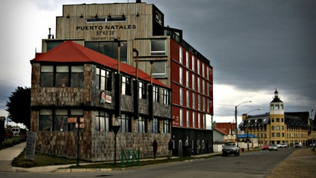 A hotel in Puerto Natales, Chile