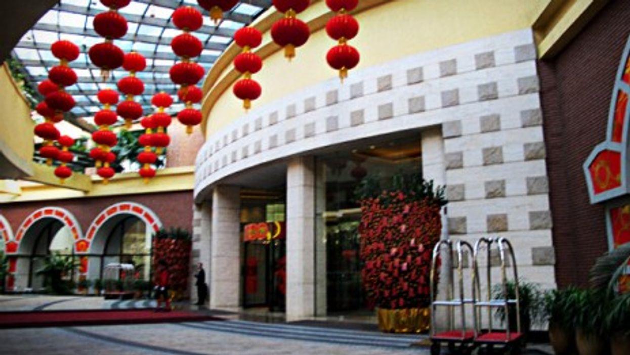 A hotel in Shenzhen