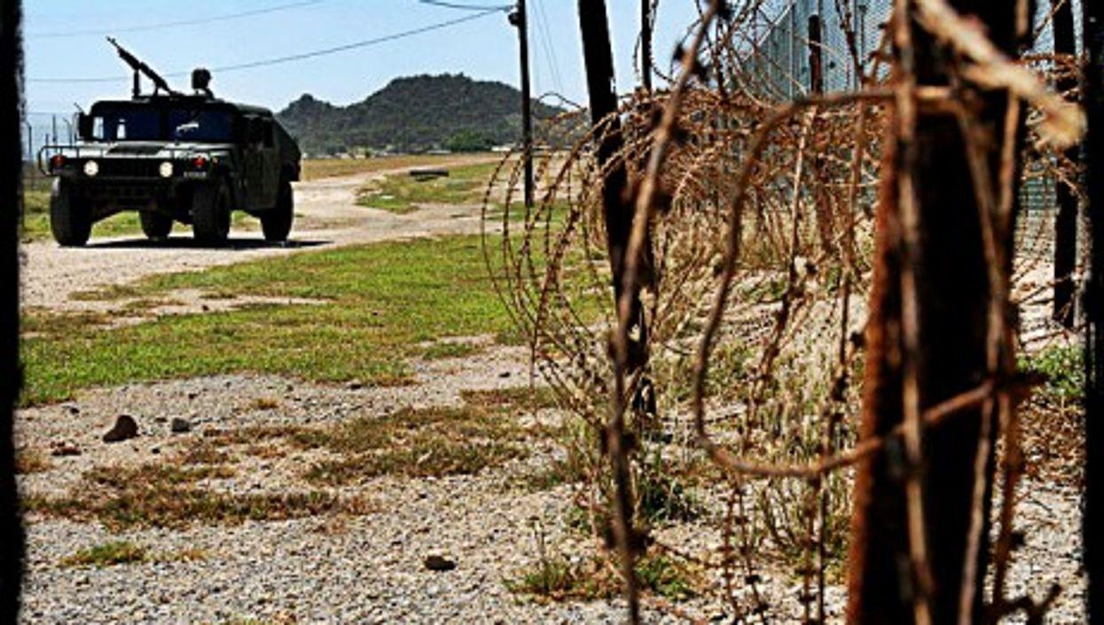 A Humvee at Guantanamo Bay Naval Base, Cuba