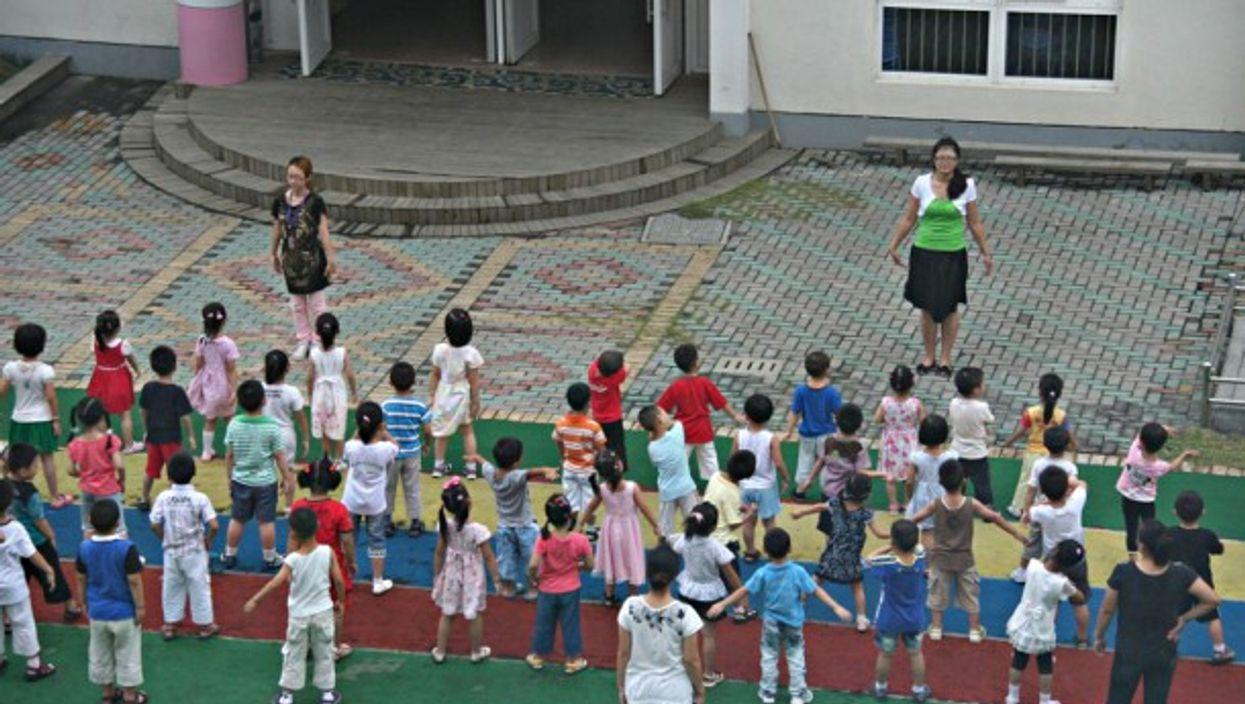 A kindergarten in Suzhou, China