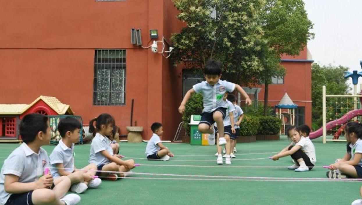 A kindergarten in Zhengzhou, China