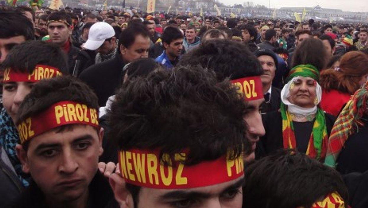 A Kurdish New Year's celebration in Istanbul (Sean David Hobbs)