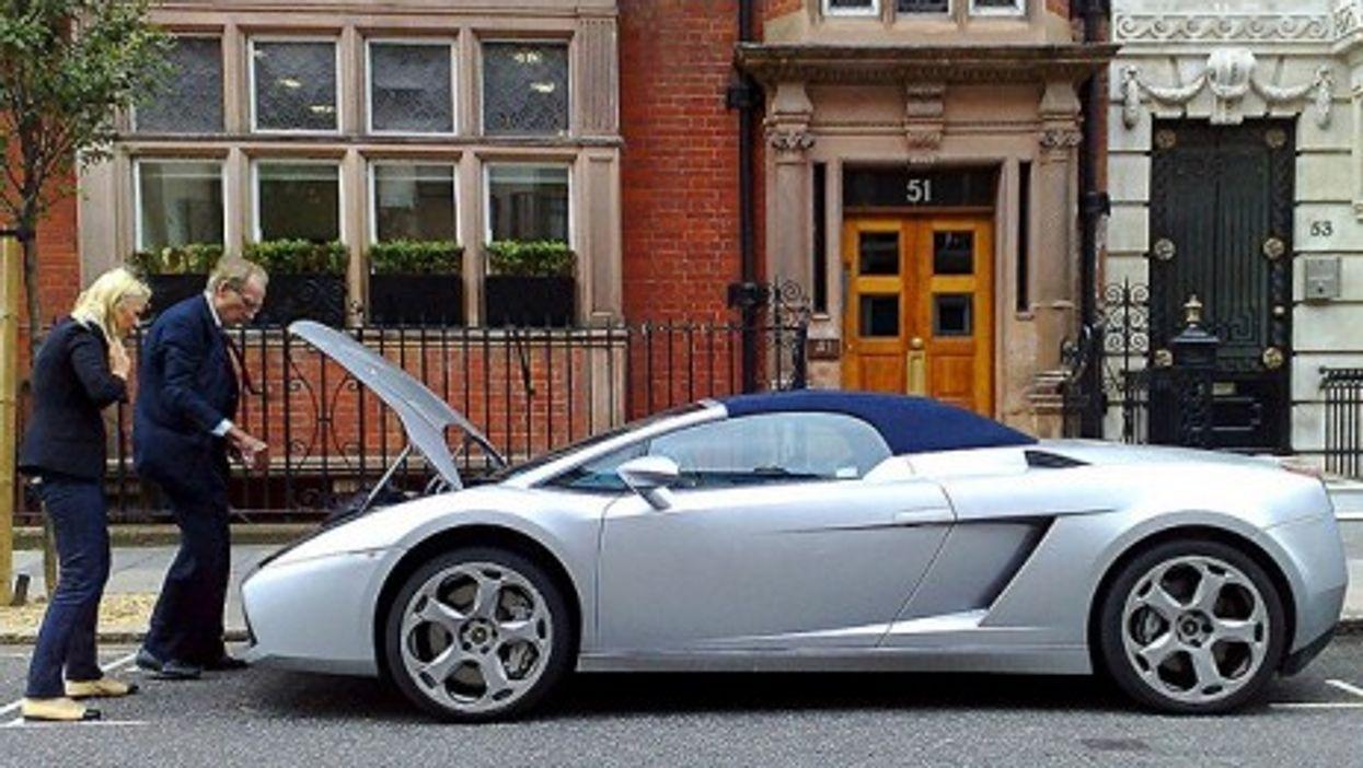 A Lamborghini Gallardo Spider in London, England (Ed Callow)