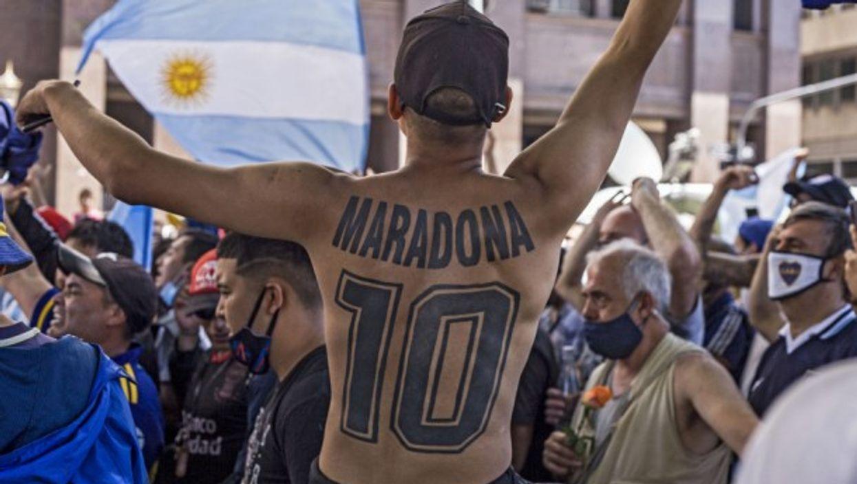A last goodbye to Maradona in Buenos Aires
