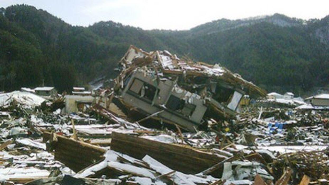 A massive concrete coastal wall couldn't save Kamaishi from the March 11 tsunami.