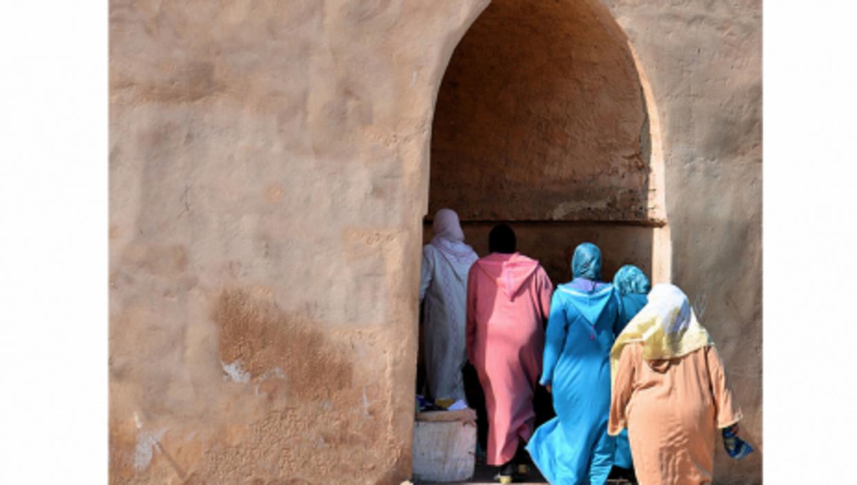 A medina in Morocco
