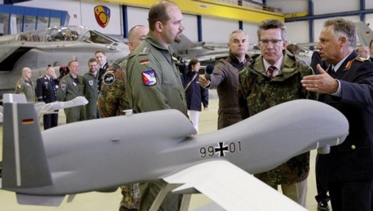 A model of Germany's 'Euro Hawk'