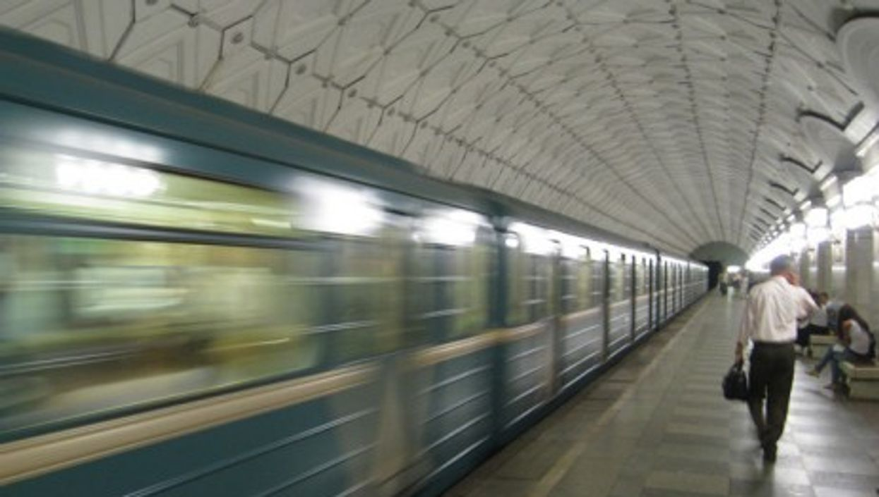 A Moscow subway station