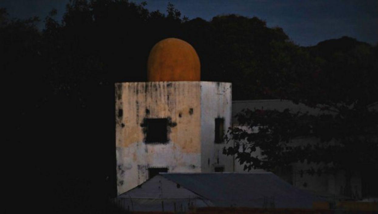 A mosque in Porte Bergé, Madagascar