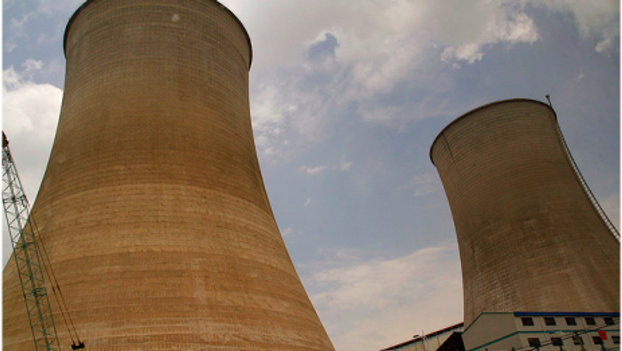 A nuclear power plant being built in Liangshan Yizu, China (CookieEvans5)