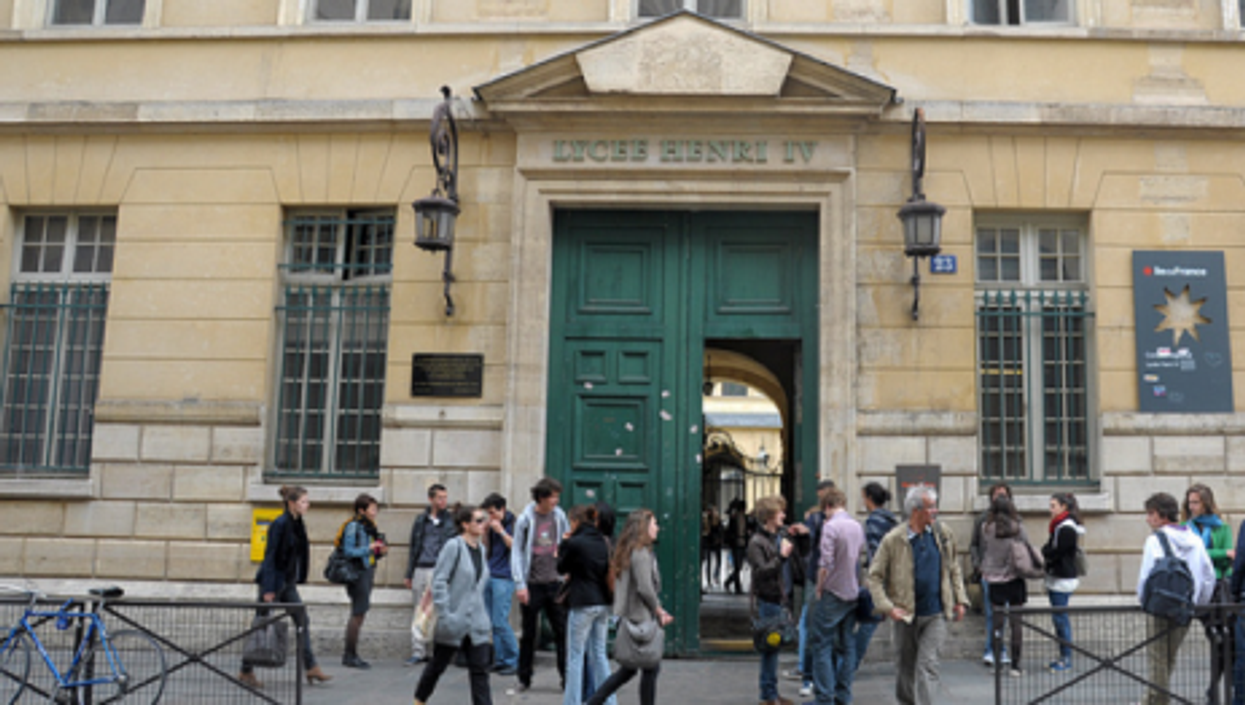 A Paris high school (faungg)