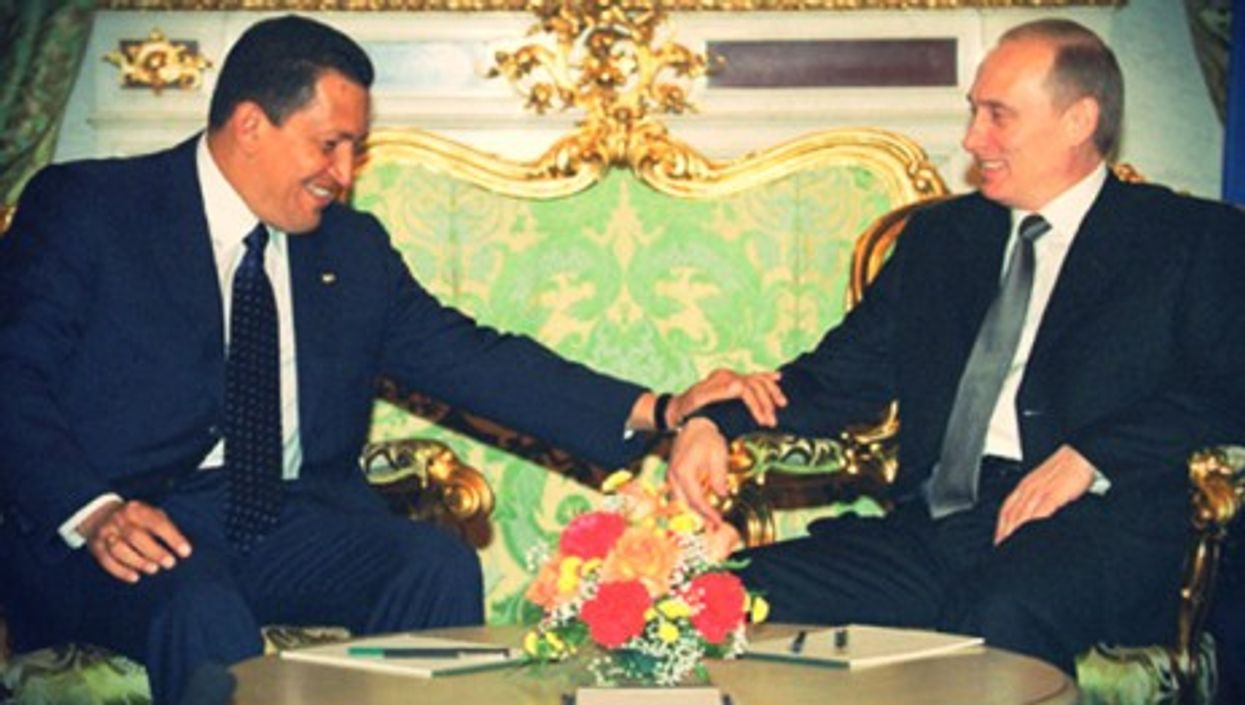 A personal bond was at the heart of the Russian-Venezuelan friendship