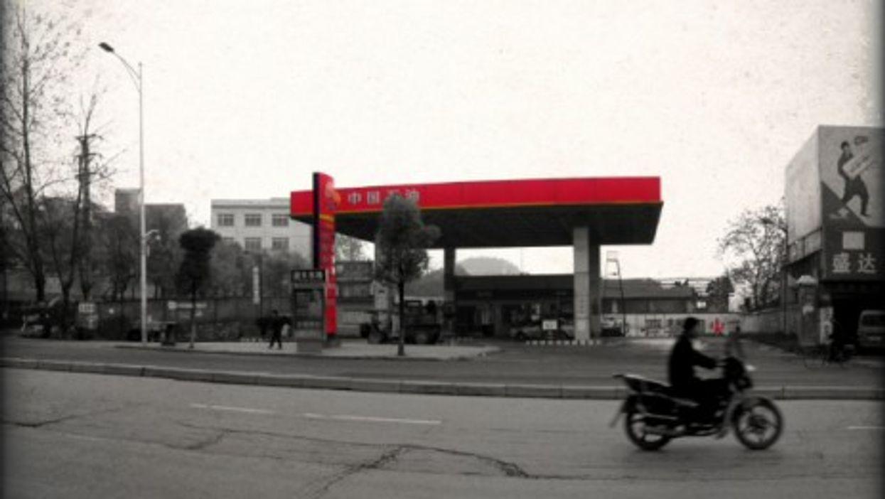 A PetroChina gas station in Huaihua, Hunan