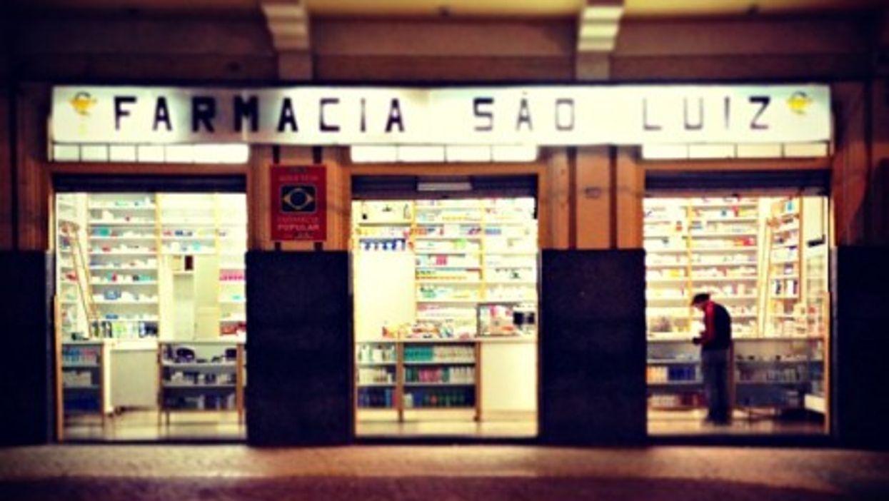 A pharmacy in Sao Paulo, Brazil