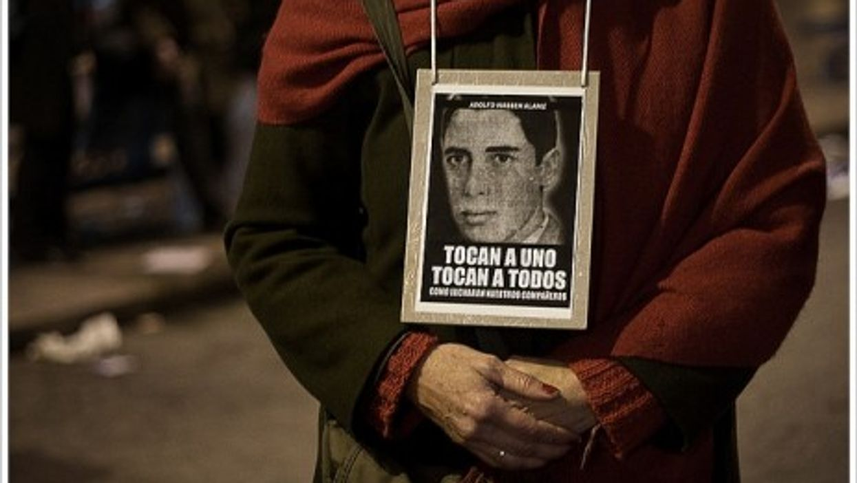A photograph of one of Uruguay's disappeared.