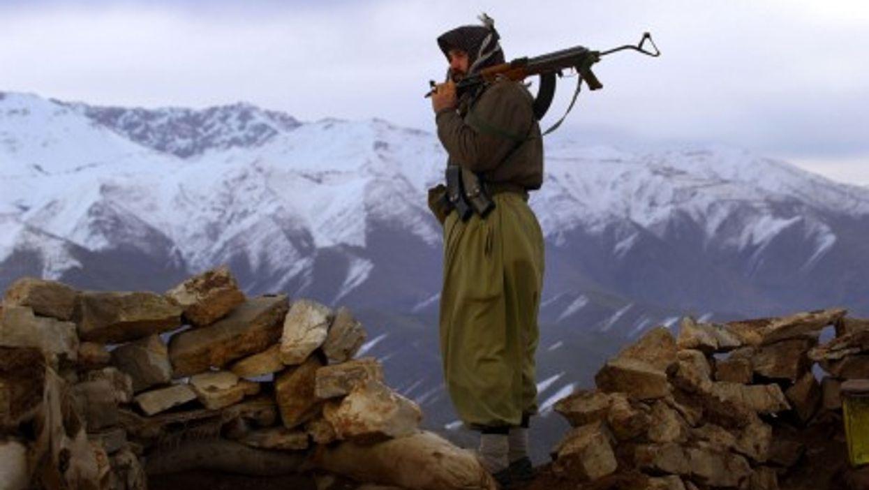 A PKK militant