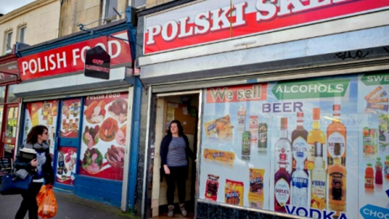 A Polish shop in Bath, UK