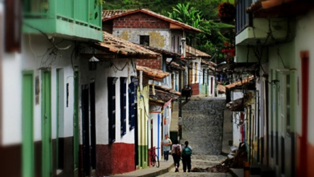 A quiet street in Concepcion