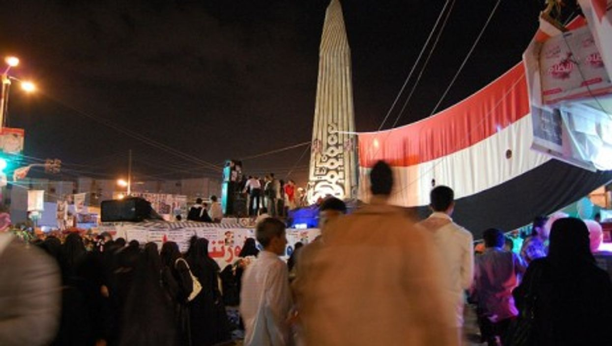 A recent evening in Sanaa, Yemen's capital city (Sallam)